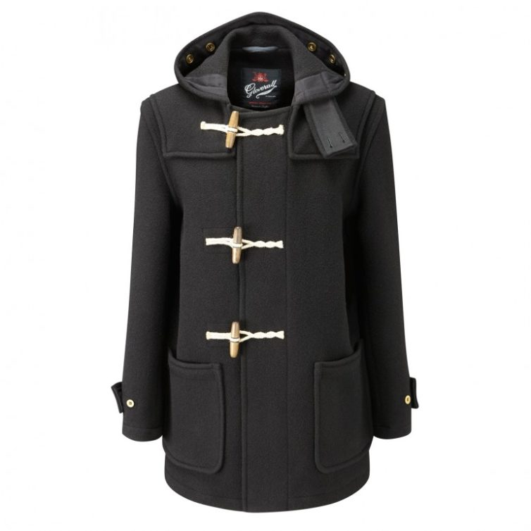 Black Men's Duffle Coat
