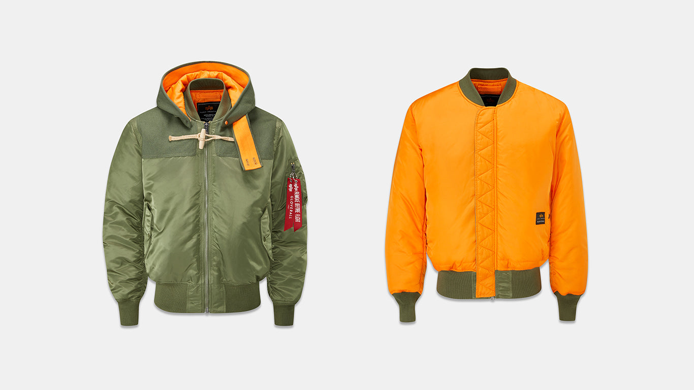 Gloverall X Alpha Industries Army MA1 Flight Jacket