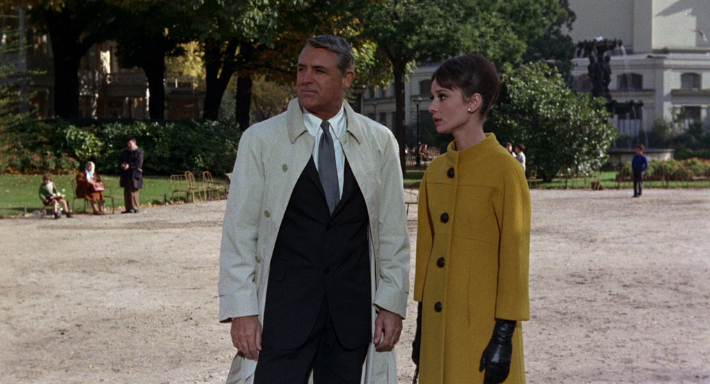 Cary Grant and Audrey Hepburn in Charade 1963