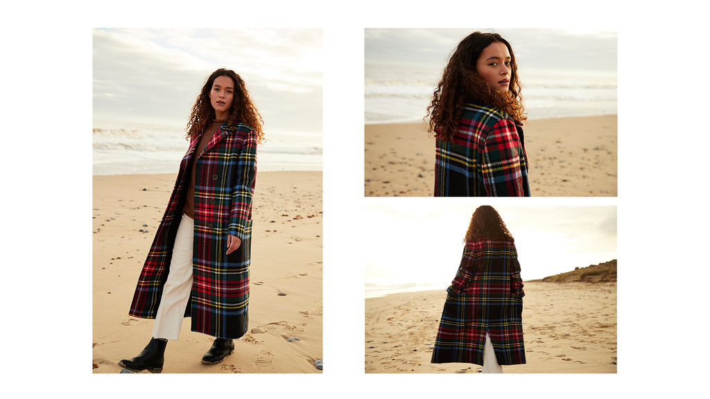Lochcarron Eva Long Peacoat