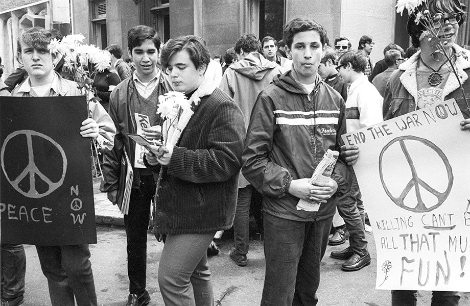 Peace March New York 1968
