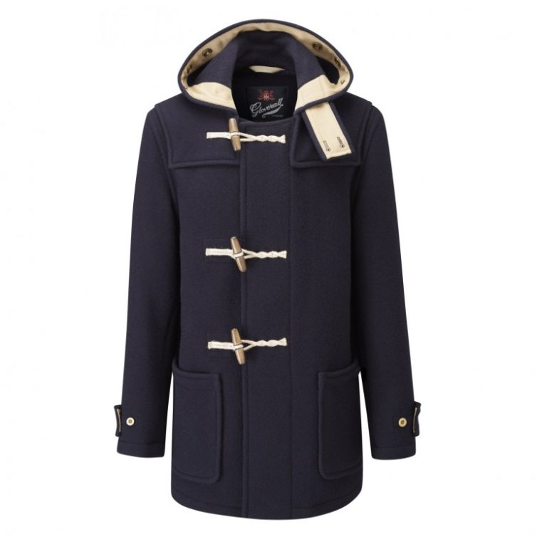 Navy Men's Duffle Coat