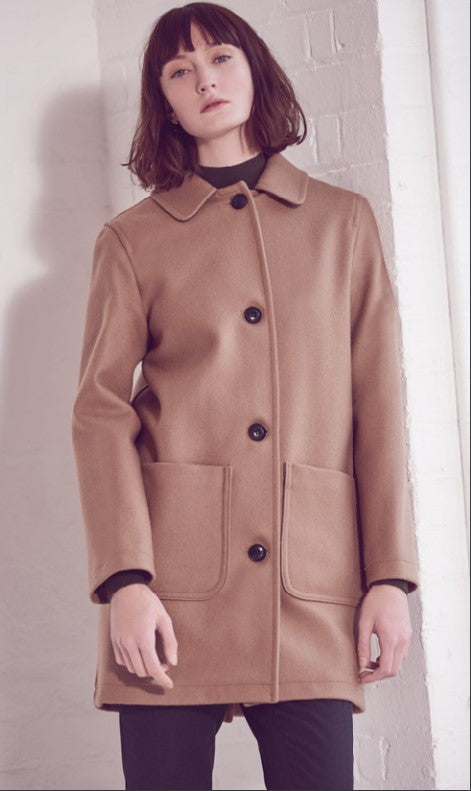 Women's Camel Overcoat