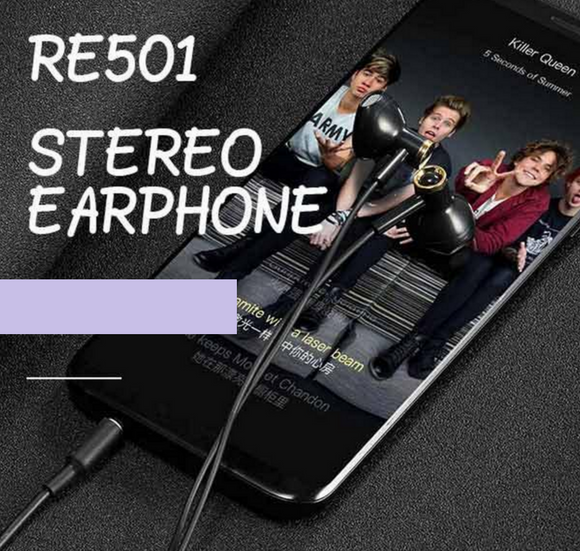 ROBOT RE501 Wired half-in earphone