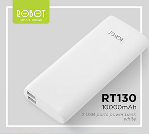 ROBOT RT130 Power bank 10000mAh 2-port (2.1A, 1A)