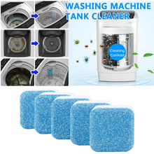 Load image into Gallery viewer, Washing Machine Cleaning Tablet - 12/24 Pcs
