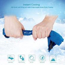 Load image into Gallery viewer, Outdoor Sport Ice Towel Rapid Cooling Microfiber