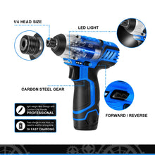 Load image into Gallery viewer, 12V Power max Electric Cordless Screwdriver