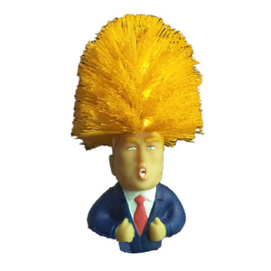 Trump Shaped Toilet Brush
