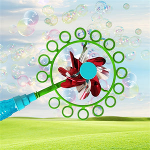 Two-in-one  Portable Bubble stick windmill