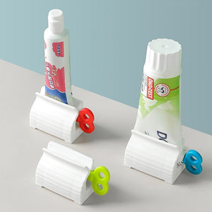 Rolling Toothpaste Squeezer Toothpaste Seat Holder Stand