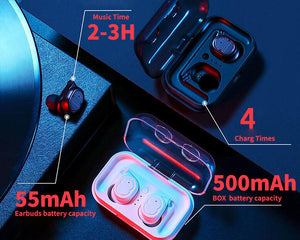Waterproof Wireless Bluetooth Earphones - tagadgets
