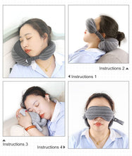 Load image into Gallery viewer, 【Limited Sale: 60% Off+BUY 2 FREE SHIPPING】Eye Mask Neck Pillow