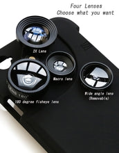 Load image into Gallery viewer, 4 in 1 Mobile Phone Lens Phone Cases - tagadgets