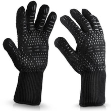 Load image into Gallery viewer, Hot 932°F Heat Resistant Barbecue BBQ Grilling Gloves Kitchen Cooking Oven Mitts