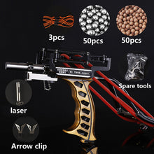 Load image into Gallery viewer, Fishing Slingshot Kit Archery Slingshot Hunting Fish Folding Professional Adjustable Shooting