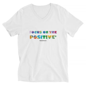 Focus on The Positive® | V-Neck Unisex Tee