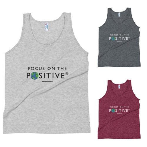 Focus on The Positive® | Triblend Unisex Tank Top