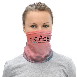 Grace | Pink Clouds Neck Gaiter