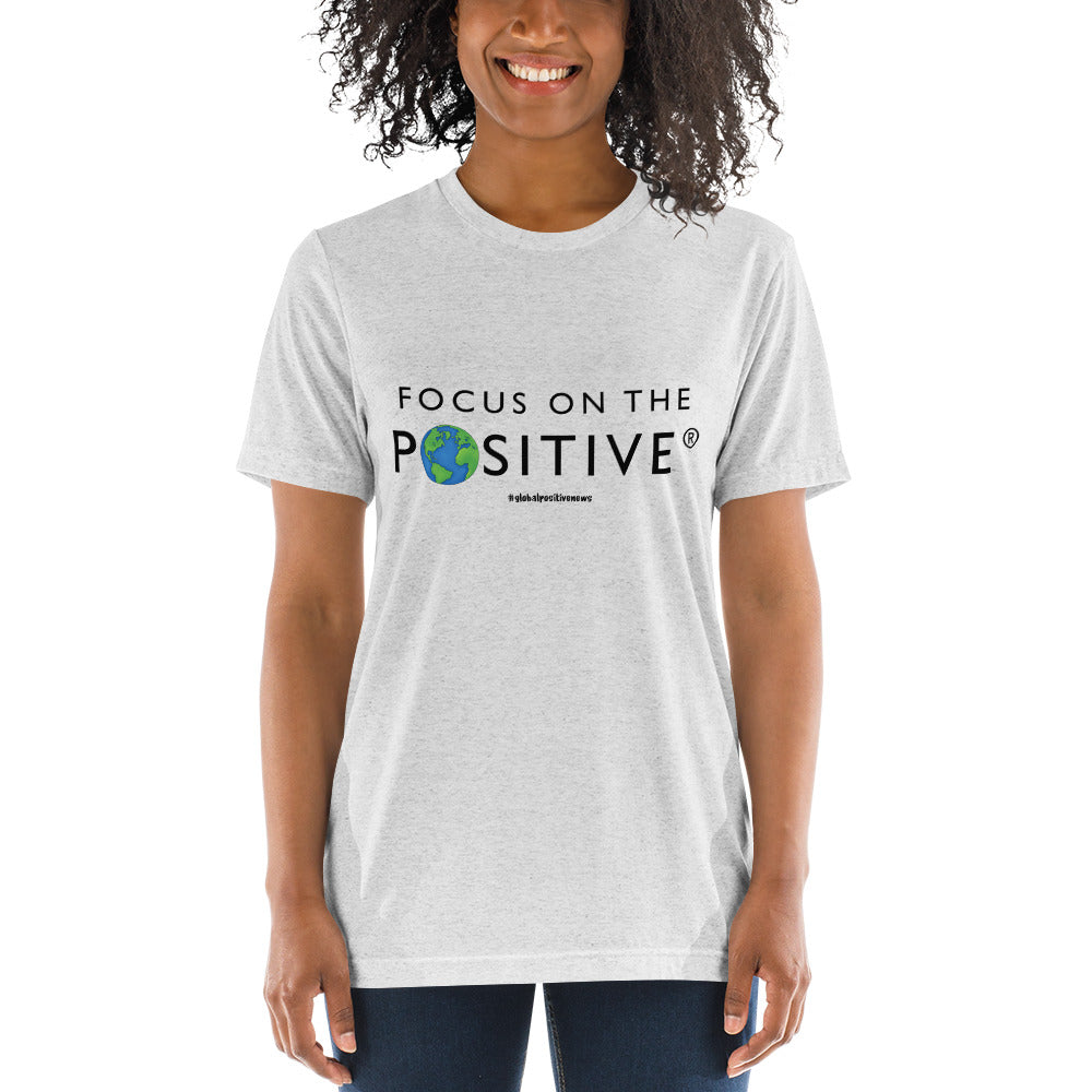 Focus on The Positive® | Triblend Unisex Tee