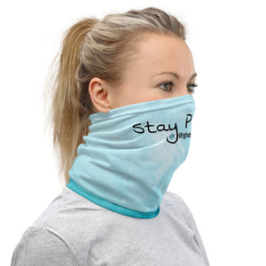 Stay Positive | Blue Skies Neck Gaiter