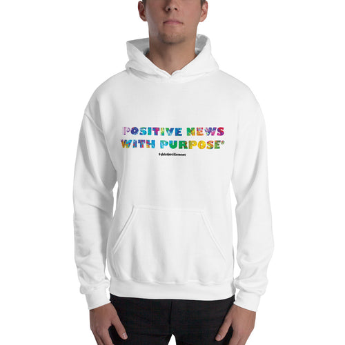 Positive News with Purpose® | Unisex Hoodie