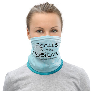 Focus on the Positive® | Blue Skies Neck Gaiter