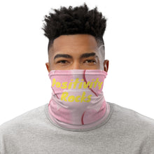 Positivity Rocks | Pink Hearts Neck Gaiter