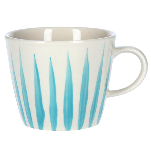Gisela Graham Blue Flame Ceramic Mug