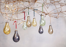 Alura Pear Baubles Large Set of 4