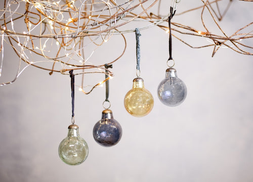 Alura Round Baubles Small Set of 4