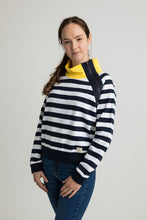 Lottie Funnel neck stripe Sweatshirt