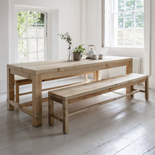 Brookville Table and Bench Set Large