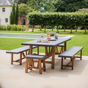 Chilson Table and Bench Large