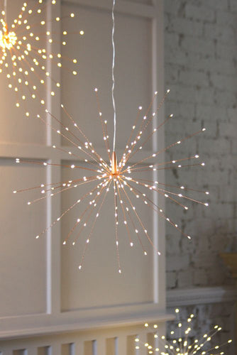 Copper Starburst Lights Small