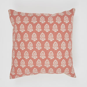 Weaver Green Acorn Cushion Coral