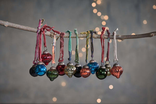 Dew Drop Baubles Set of 12