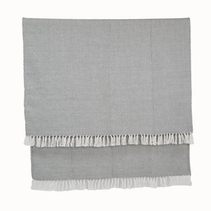 Weaver Green Throws Diamond Dove Grey