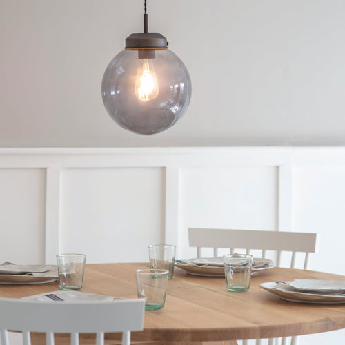 Dulwich Pendant Light Smoke