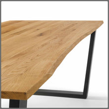 Industrial style dining table 210cm