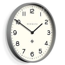Echo Number One Clock Grey