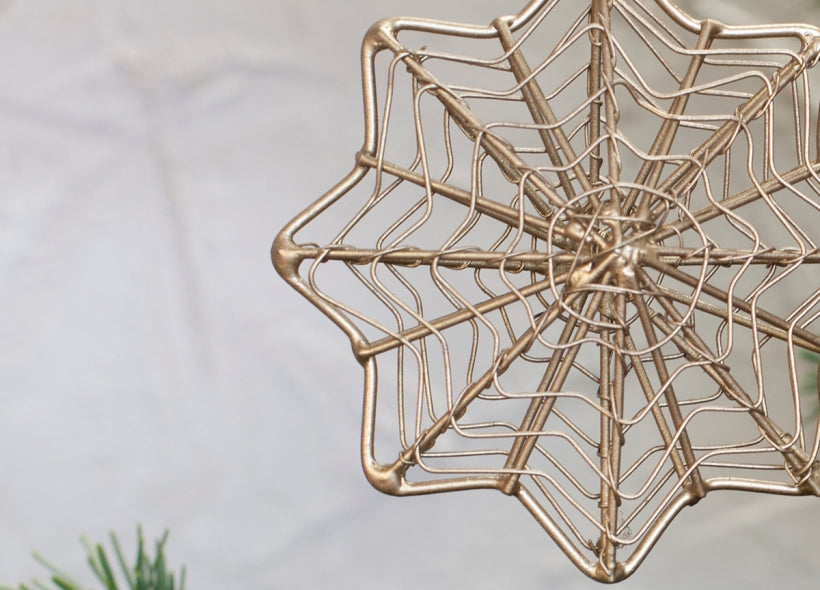 Ngoni Wire Hanging Stars Set of 3