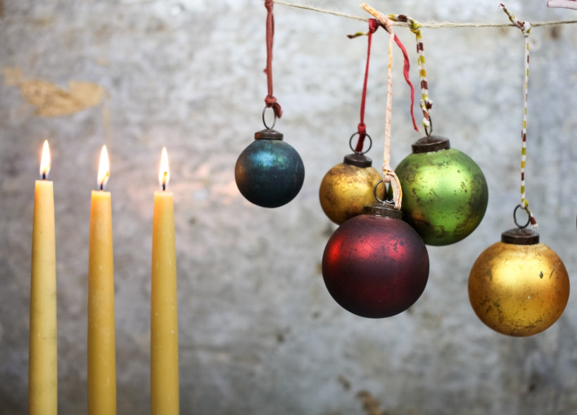 Oko Baubles Small Set of 4