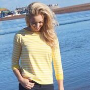 Jenny Breton Top Yellow