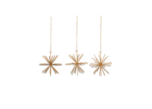 Dagari Star Decorations Set of 3