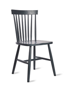 Spindle Back Chair Carbon
