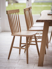 Spindle Back Chair Natural