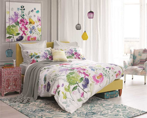 Tetbury Meadow Duvet Cover Bluebellgray
