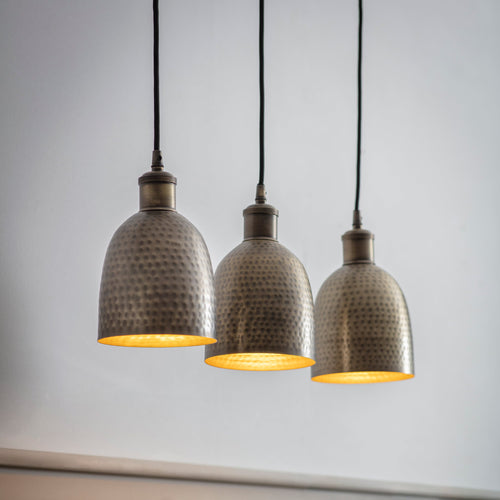 Trio of Kielder Pendant Light