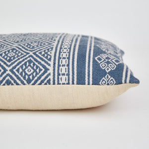Weaver Green Kalkan Cushions Navy